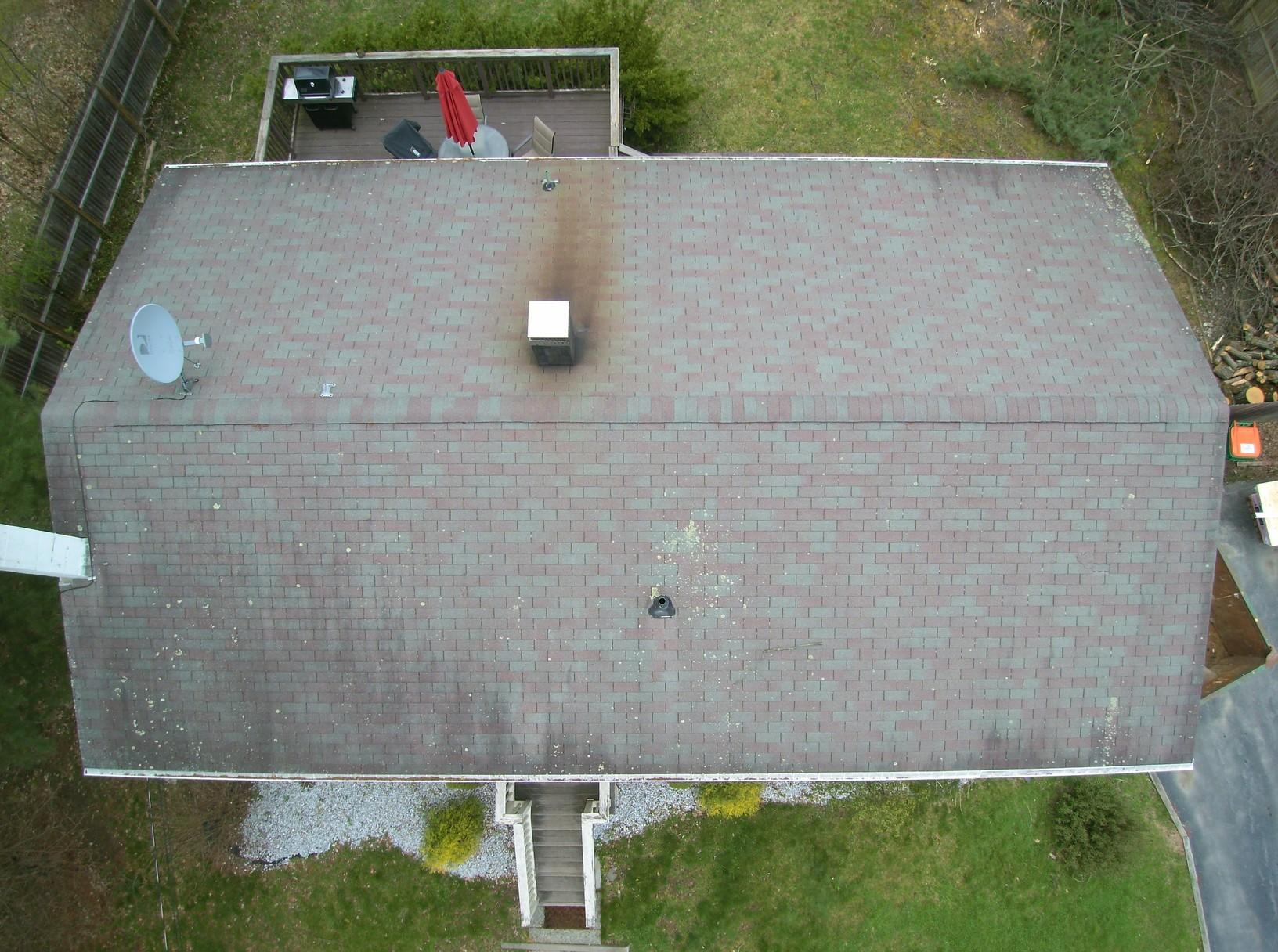 Onyx Black Roof Replacement in Wappingers Falls, NY - Before Photo