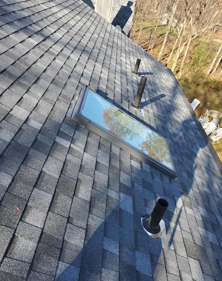New Roof and Skylight in New Paltz, NY - After Photo
