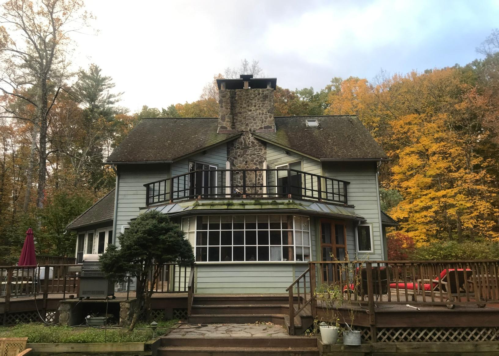 Roof Replacement in Accord, NY - Before Photo