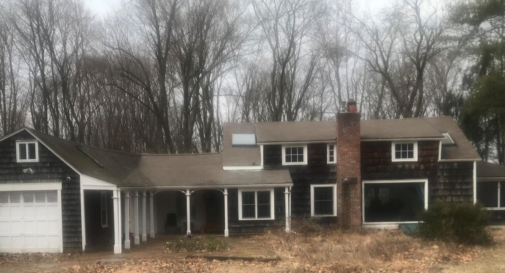 NEW roof installed in Beacon, NY - Before Photo