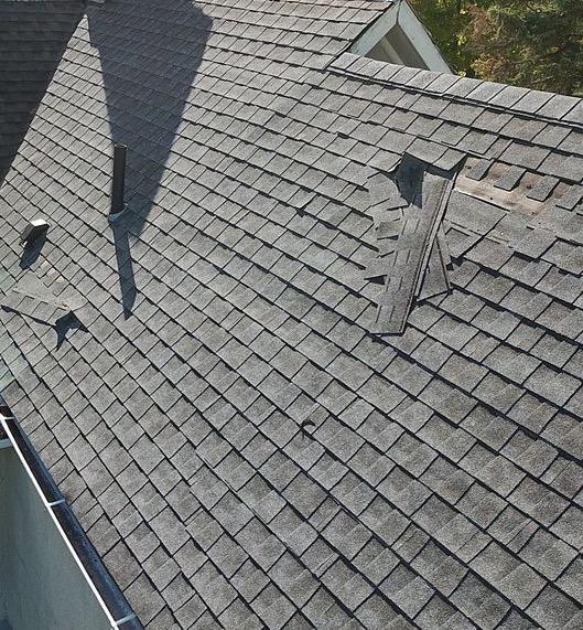 Roof Repair in Germantown, NY - Before Photo