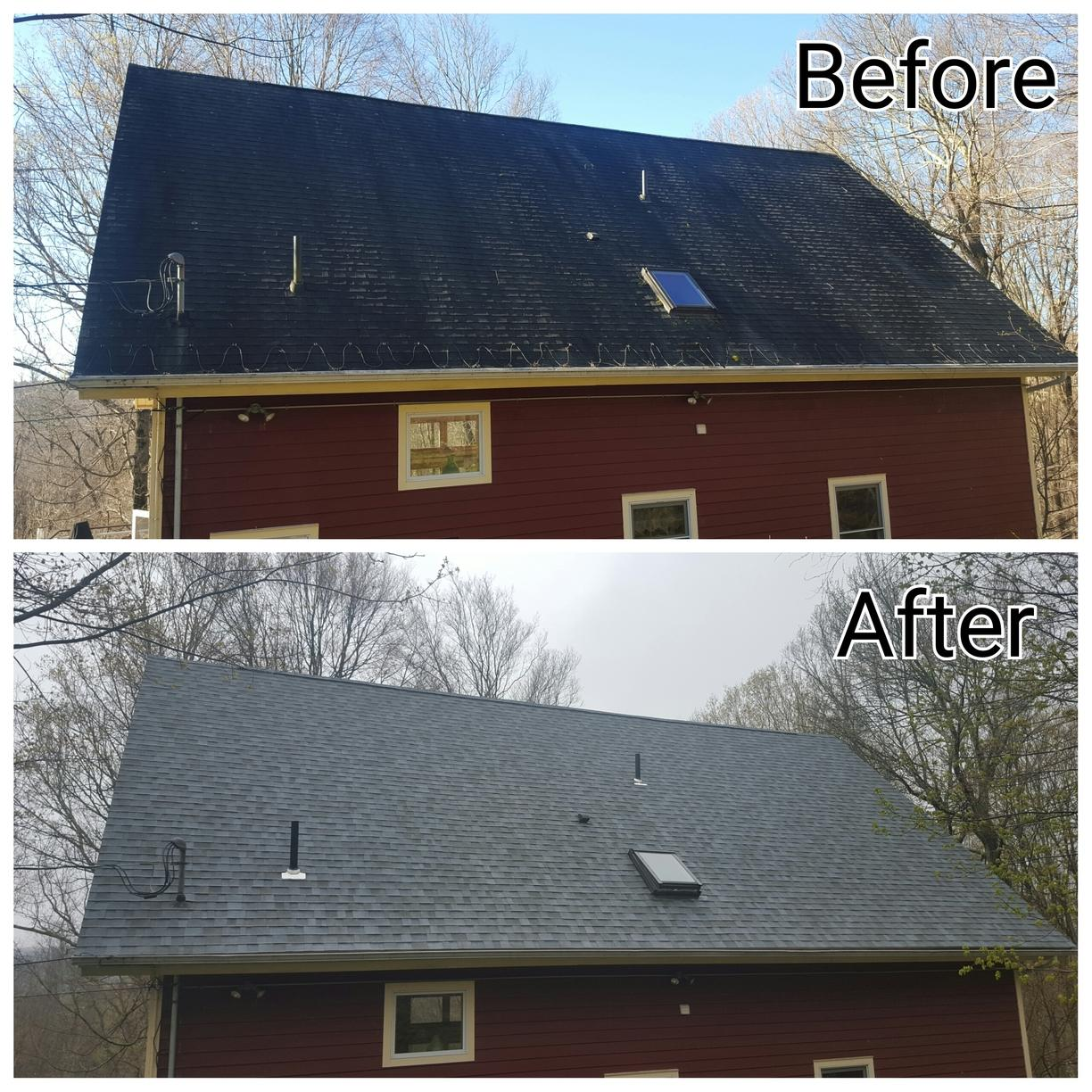 Carmel, NY New Roof Replacement - Before Photo
