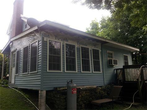 Siding Replacement in Fishkill, NY - Before Photo
