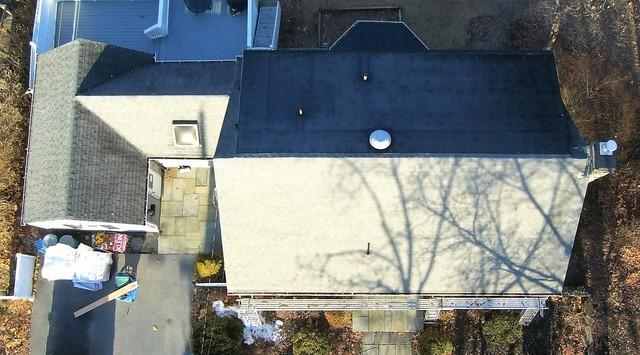 Roof Replacement with Asphalt Shingles and EPDM in Poughkeepsie, NY