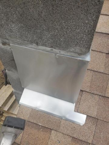 Chimney Flashing Repair in Hyde Park, NY - After Photo