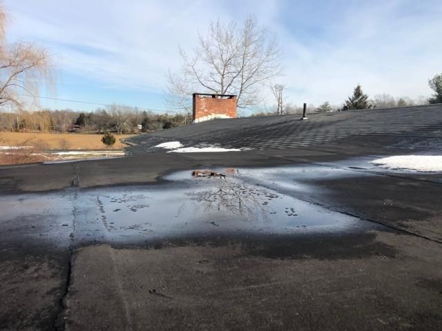 Roof Repair in Saugerties, NY - Before Photo