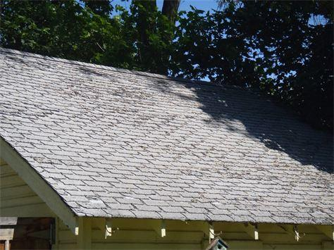 Roof Replacement - Before Photo