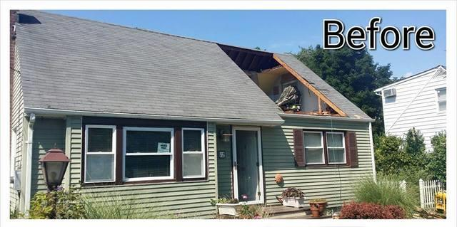 Roof Replacement and Dormer Installation in Fishkill, NY - Before Photo