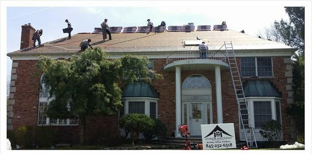 Roof Replacement in Monroe, NY - Before Photo