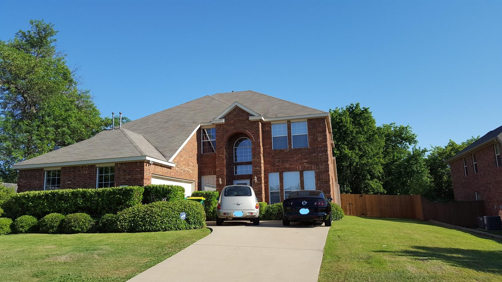 Rowlett, Texas Roof Replacement - Before Photo