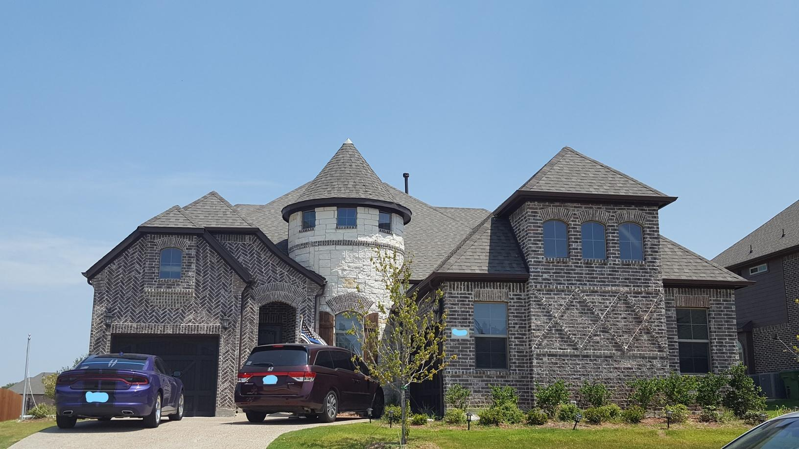 Roof Replacement in Sachse, TX - Before Photo