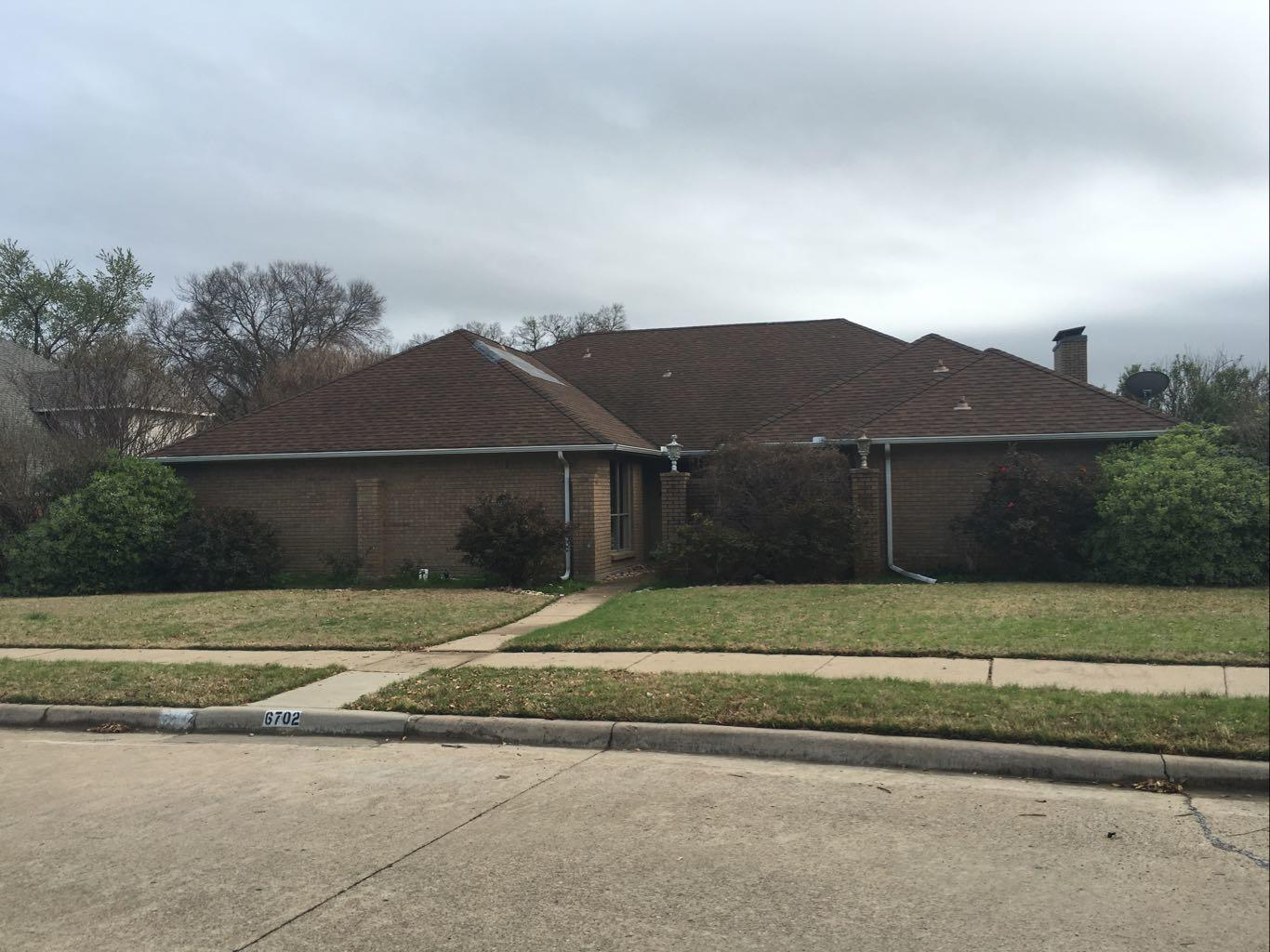 Roof Replacement in Rowlett TX - Before Photo