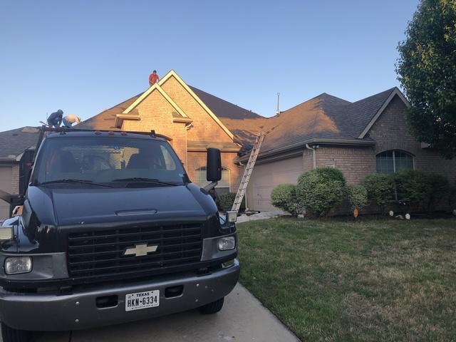 Mesquite, TX Hail Damaged Roof Repair