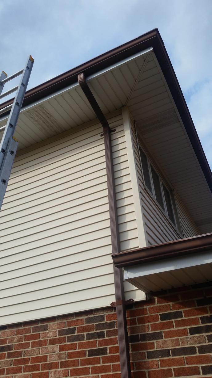 Gutter Repair in Orland Park - After Photo