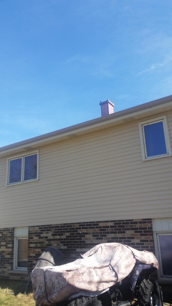 Gutter Repair Tinley Park IL - After Photo