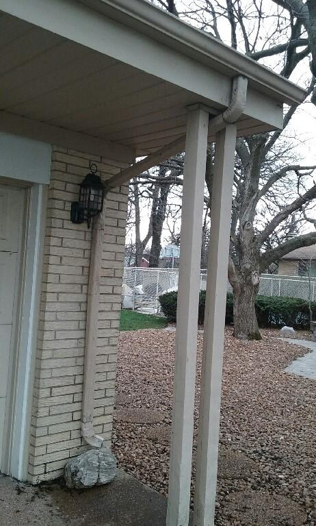 Gutter Repair Project in Palos Heights - After Photo