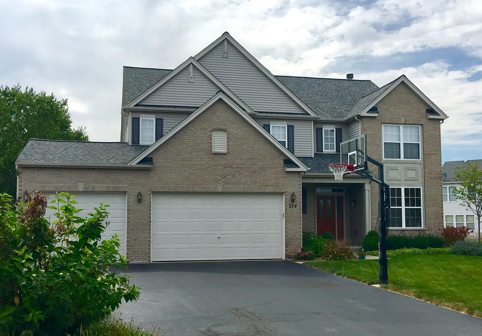 Romeoville, IL Certainteed Landmark Roof Replacement - Before Photo
