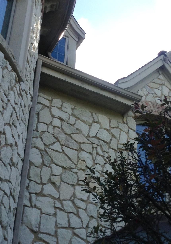 Homer Glen, IL Gutter repair - Before Photo