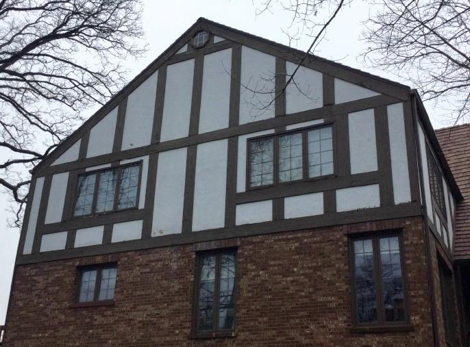 James Hardie Installation in Palos HIlls, IL - Before Photo
