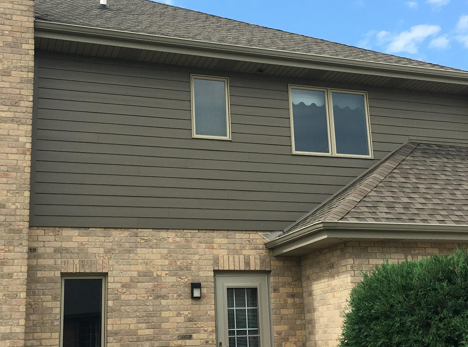 James Hardie Fiber Cement Siding Installation in Mokena, IL - After Photo