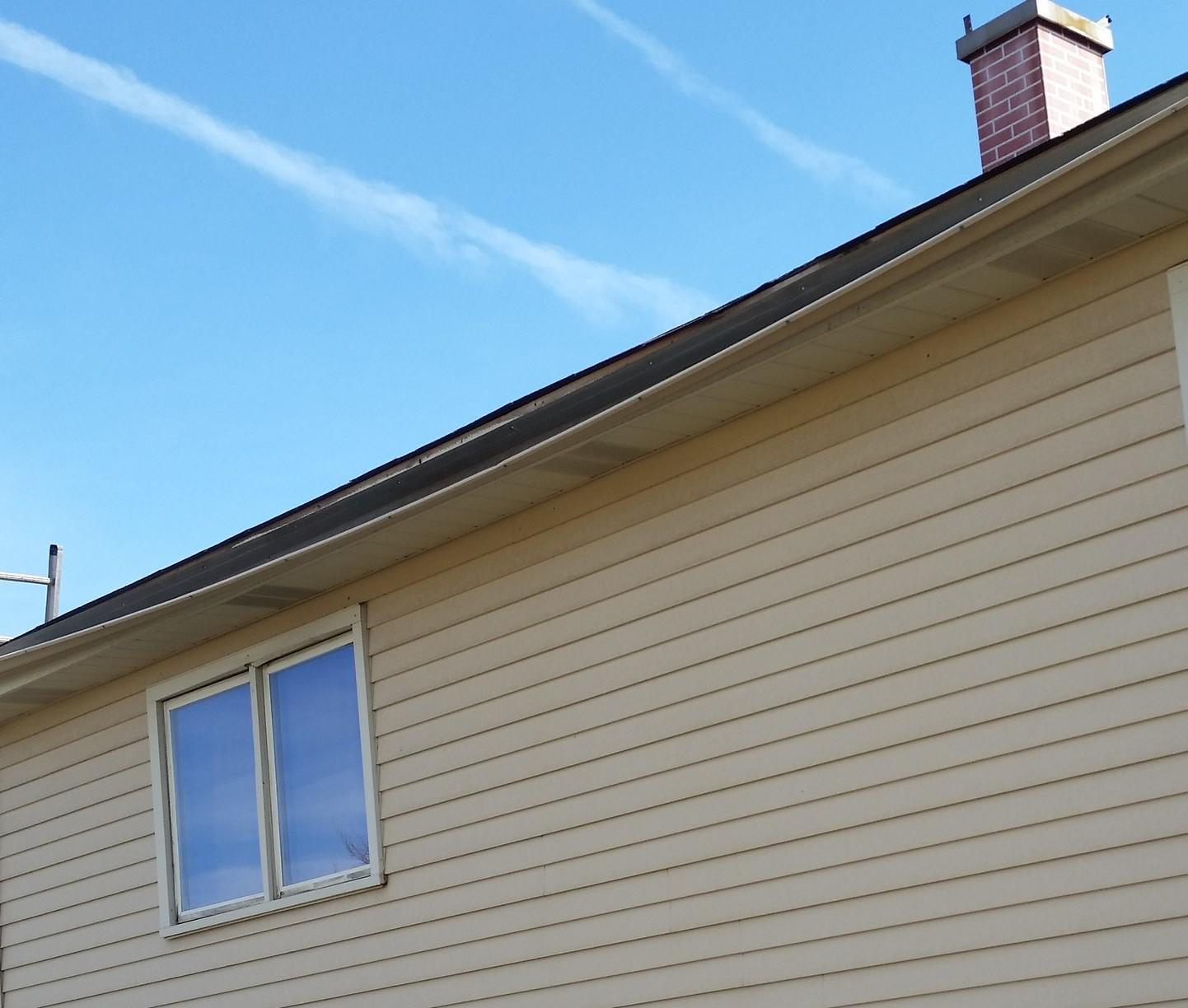 Tinley Park, IL Gutter Repair - Before Photo