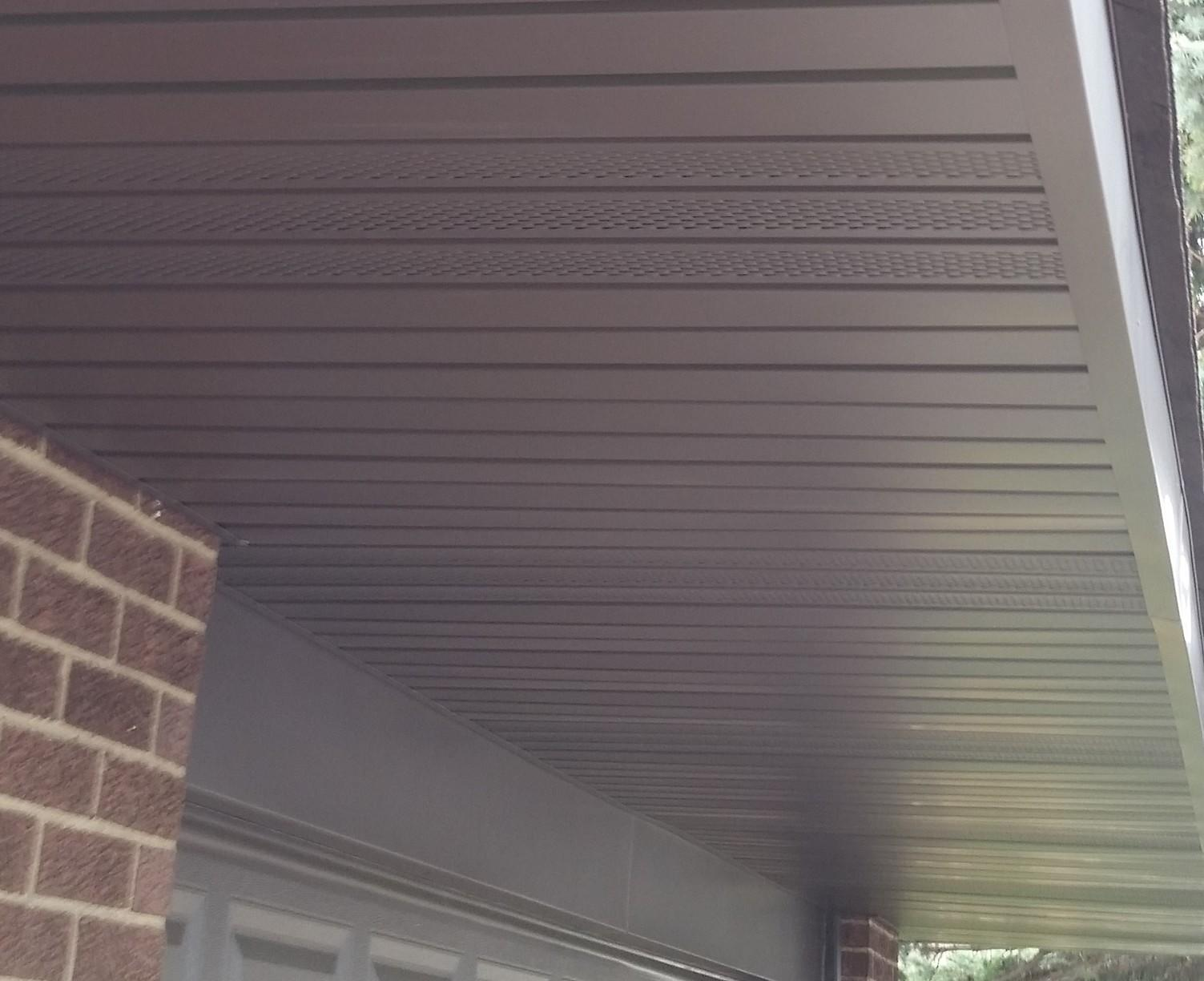 Vented Soffit Installation Tinley Park, IL - After Photo