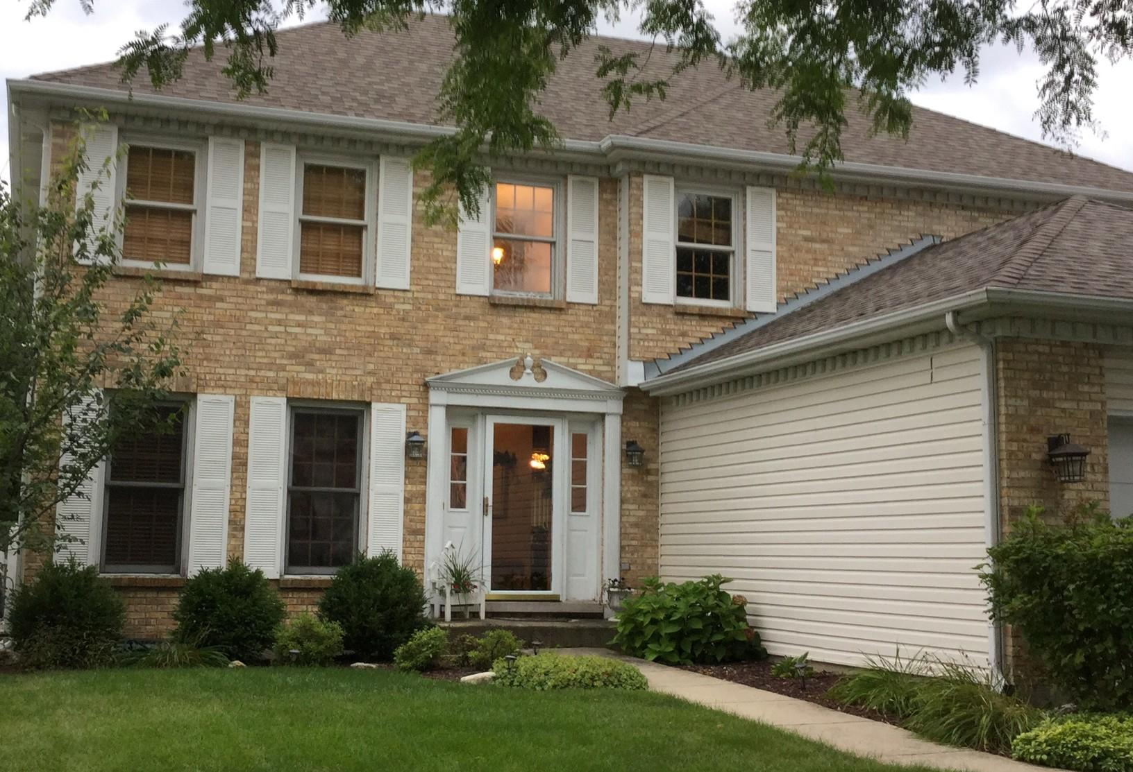 Full Window Replacement in Plainfield, IL - Before Photo