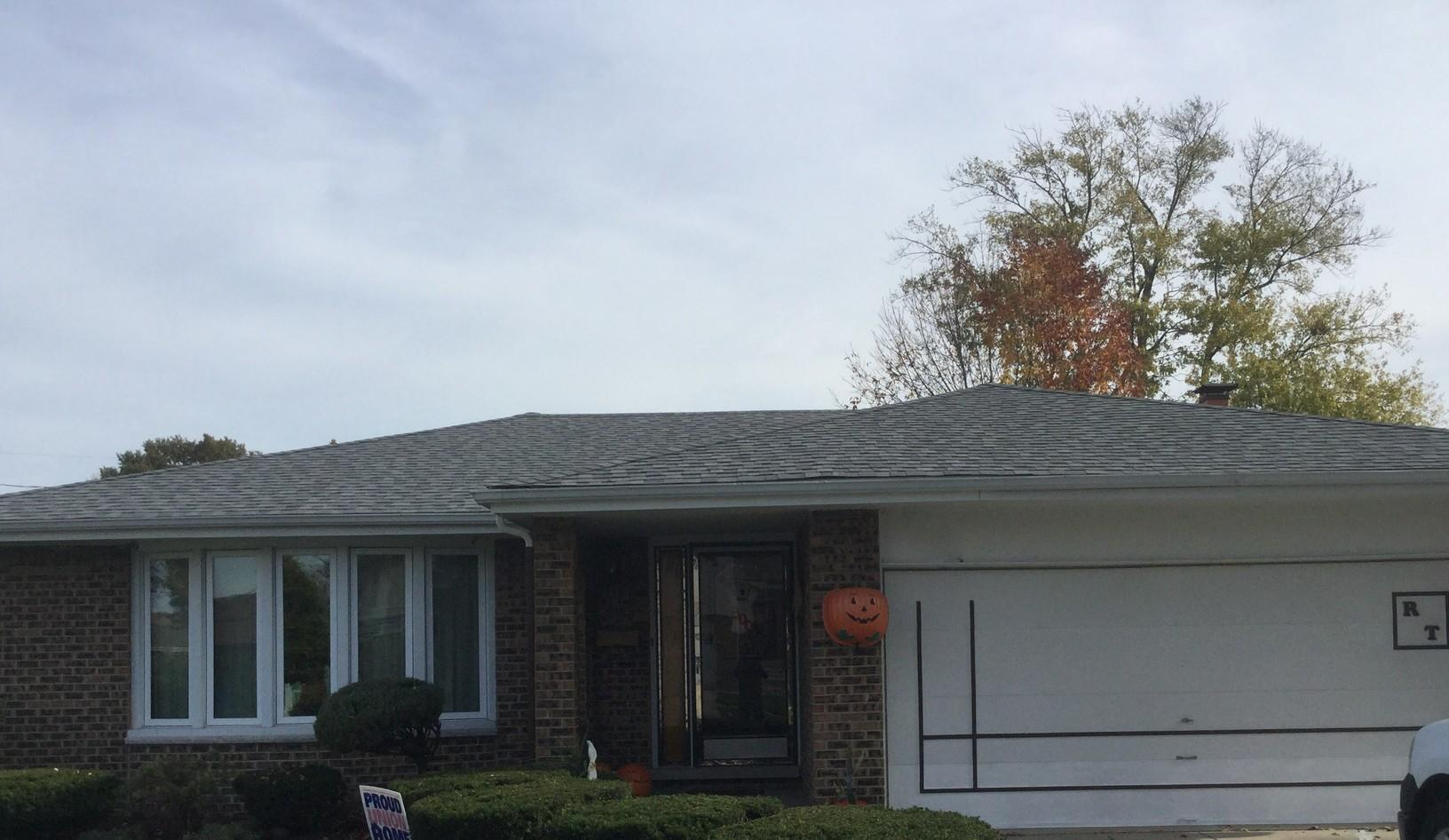 Beautiful Oak Lawn, IL Certainteed Landmark Roof Replacement - After Photo