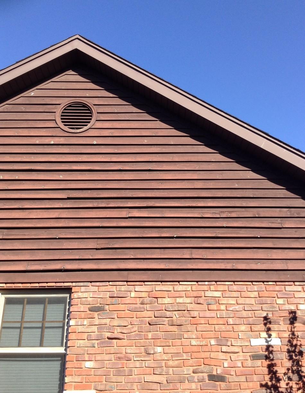 Frankfort, IL Cedar Siding Repair - Before Photo