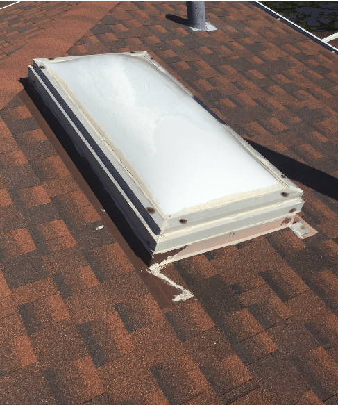 Skylight Replacement in Orland Park, IL - Before Photo
