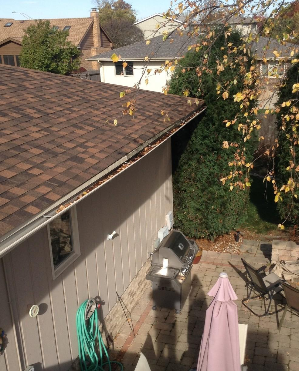Gutter Hangers in Orland Park, IL - Before Photo