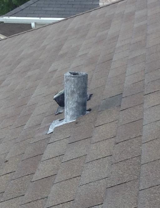 Lead Plumbing Flashing Replacement in Orland Hills, IL - After Photo