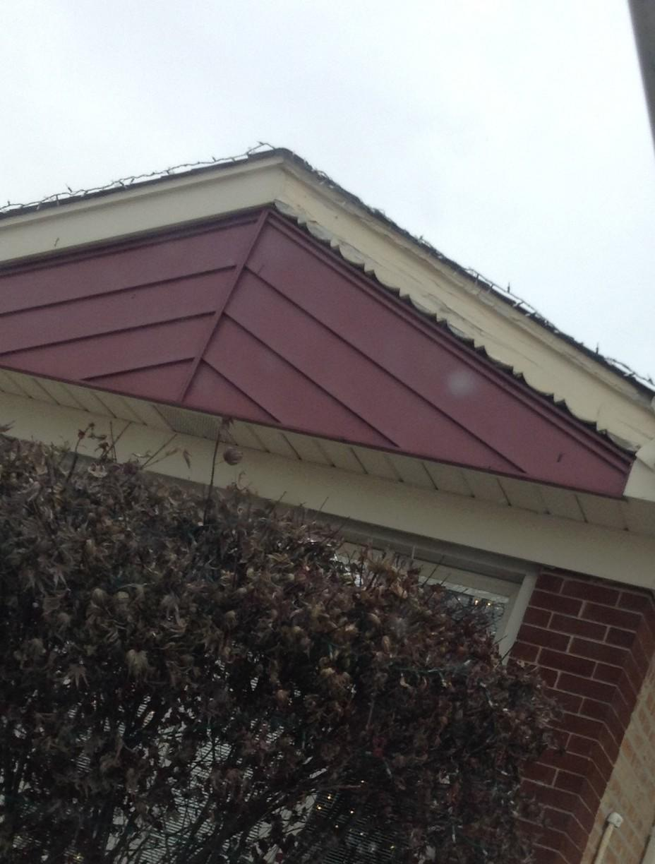 Clean Fascia Repair - Before Photo