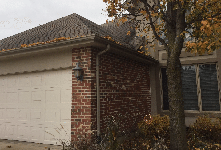 Gutter Project in Orland Park, IL - Before Photo