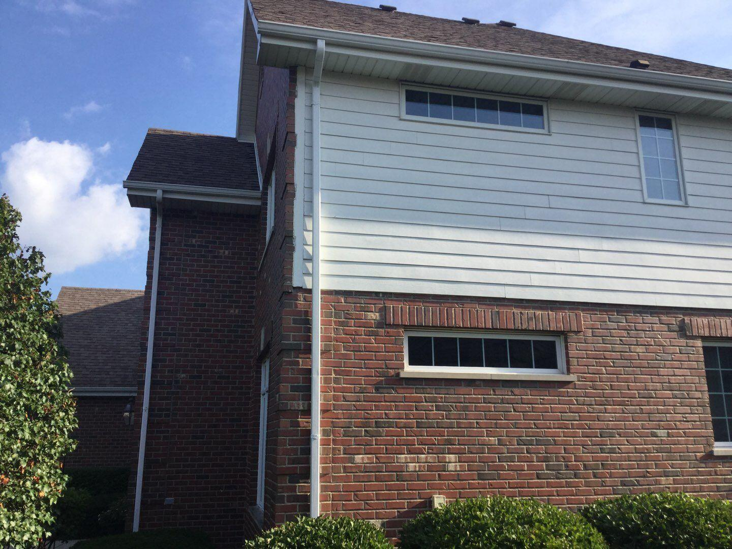 Gutter replacement in Orland Park, IL - After Photo