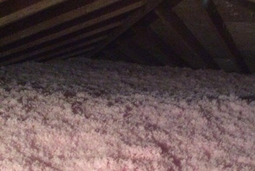 Attic Insulation in Palos Heights - After Photo