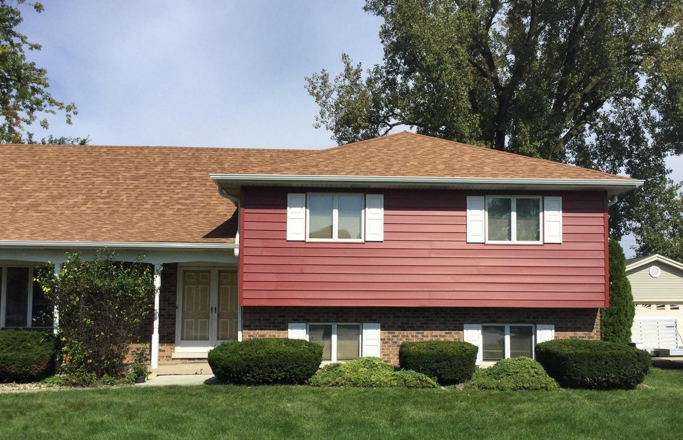 Crane Insulated Siding Installation in Palos Hills - After Photo