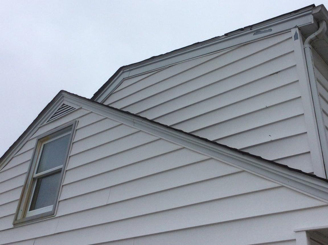 Buckling Siding Repair in Frankfort - After Photo
