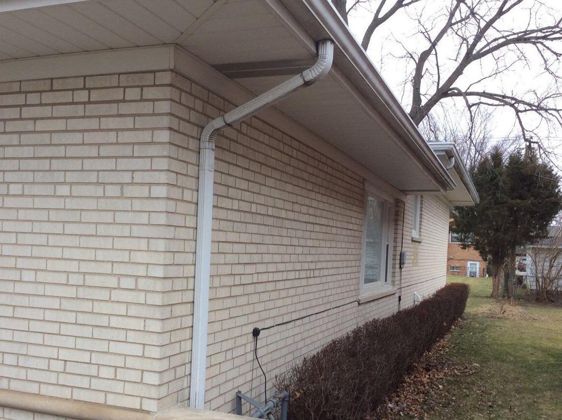 Downspout Repair - Oak Lawn, IL - After Photo