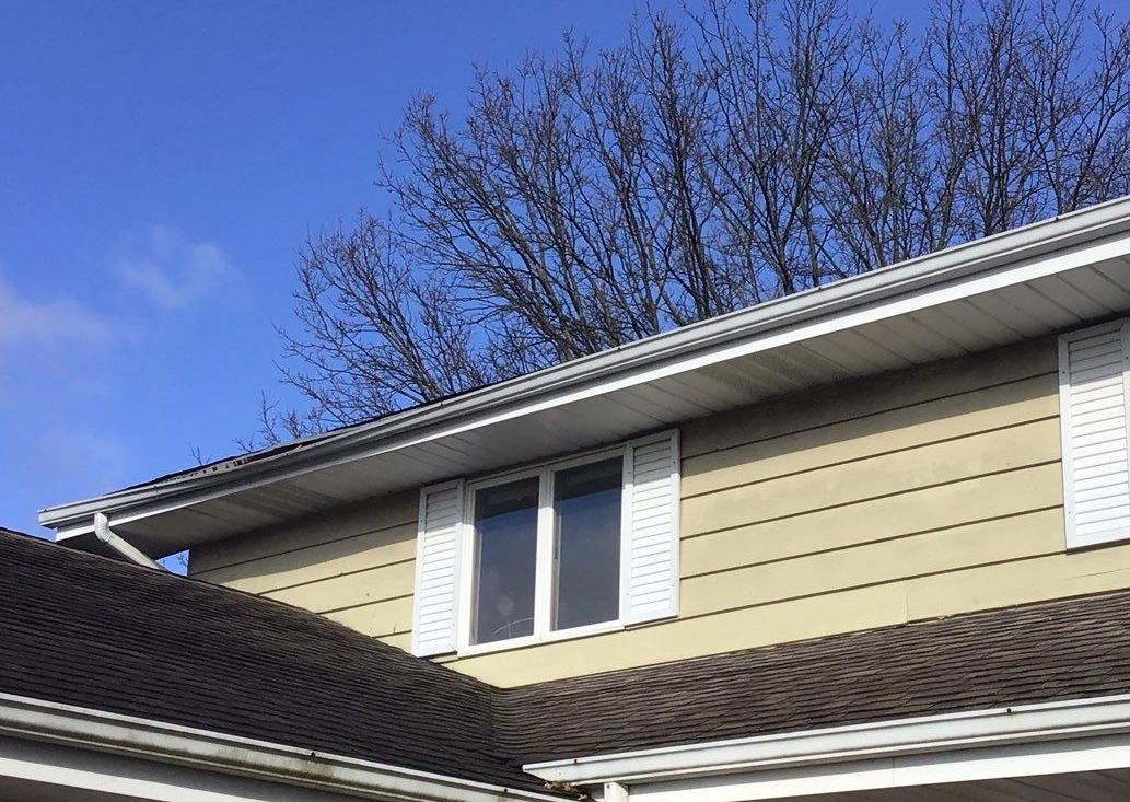 Gutter Hanger Installation in Orland Park, IL - Before Photo