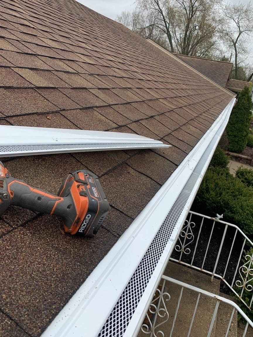 Tinley Park, IL Gutter Guards - After Photo