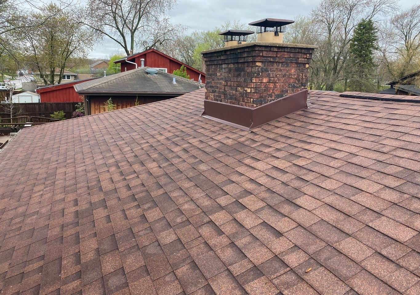 Roof installation in Oak Forest, IL - After Photo