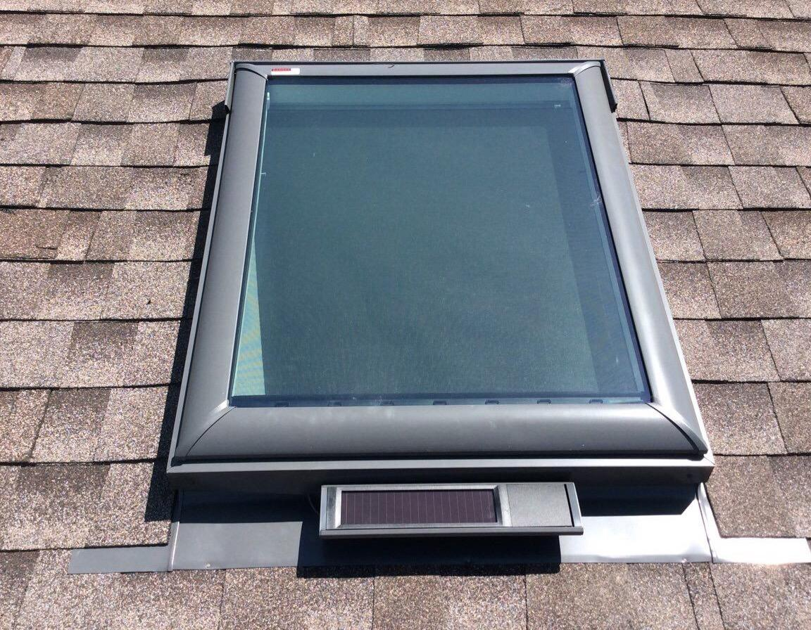 Velux Solar Powered Skylights in Tinley Park, IL - After Photo