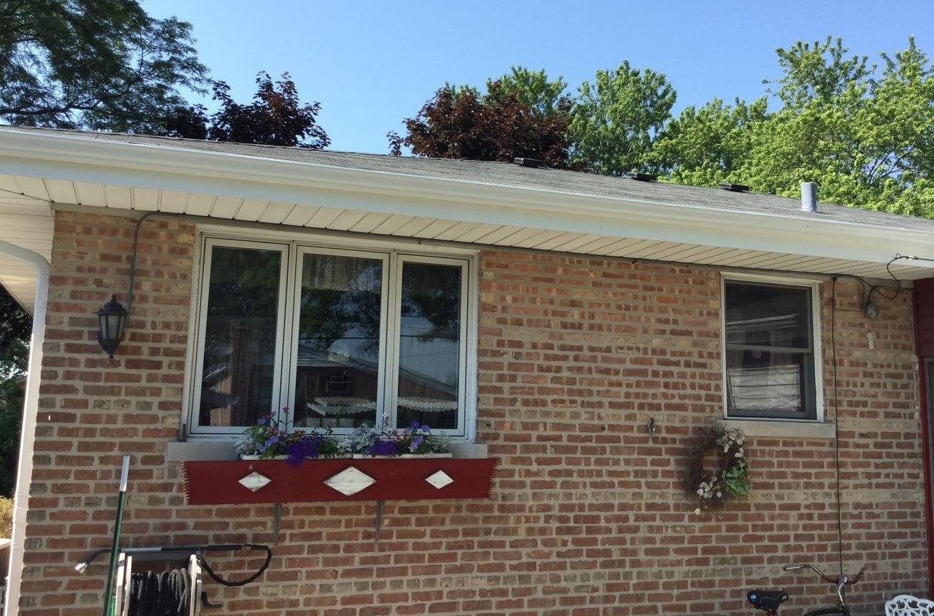 New gutter install in Oak Lawn, IL - After Photo
