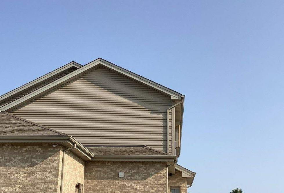Siding repair in Tinley Park, IL - After Photo