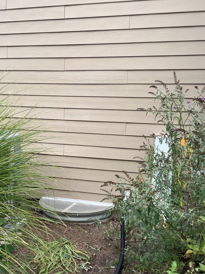 Water damaged siding repair in Frankfort, IL - After Photo