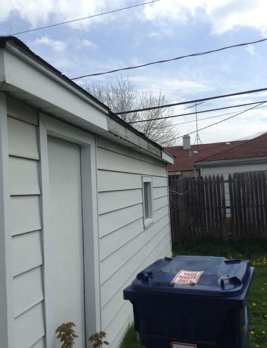 Hometown IL Siding Replacement - Before Photo