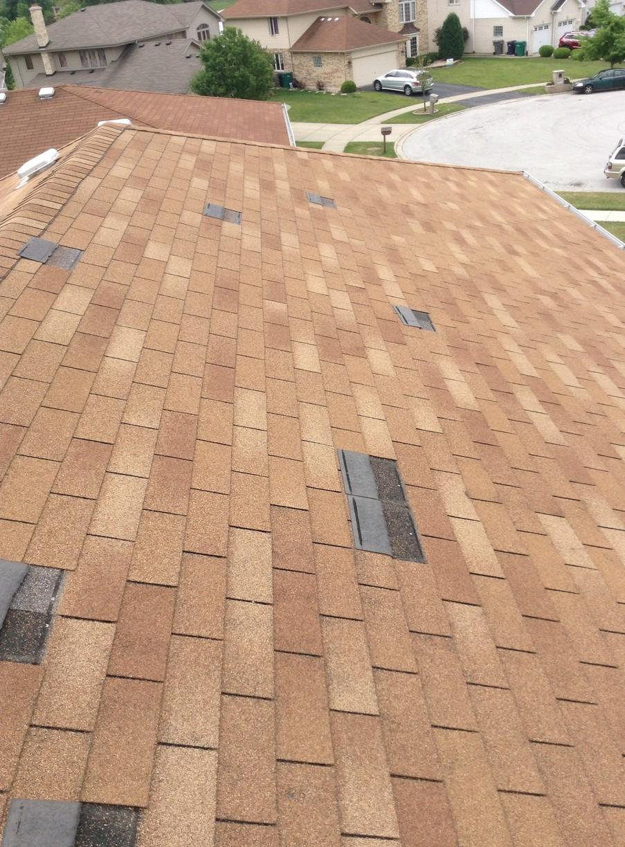 Roofing Shingles Repair in Orland Hills - Before Photo