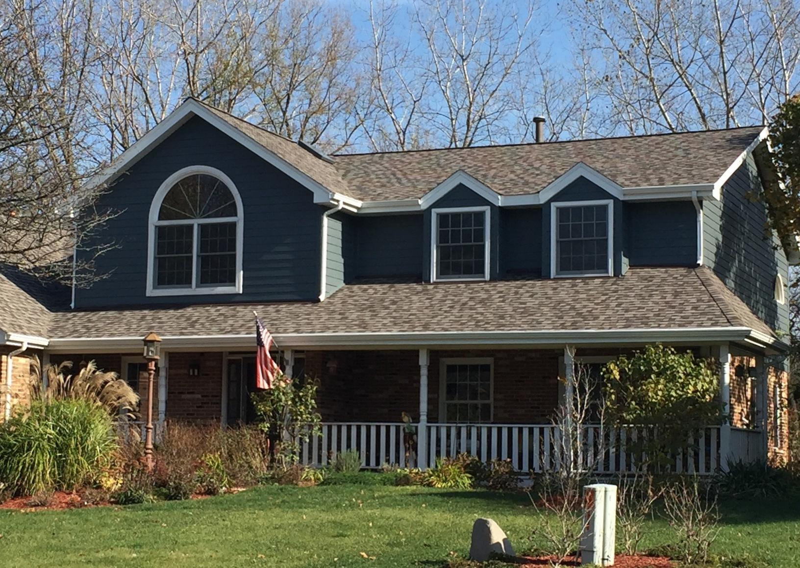 Siding, Roof Replacement, & Velux Skylight project in Orland Park IL - After Photo