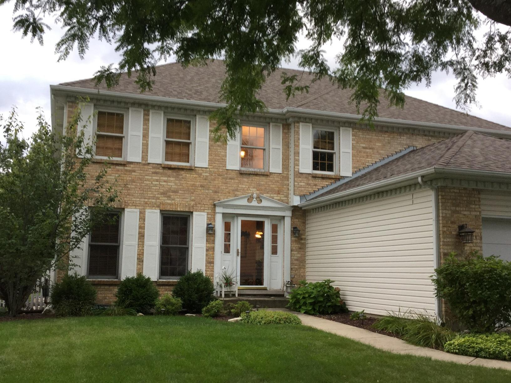 Plainfield IL Window Replacement - Before Photo